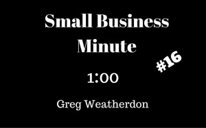 Small Business Minute 16