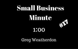 Small Business Minute 17