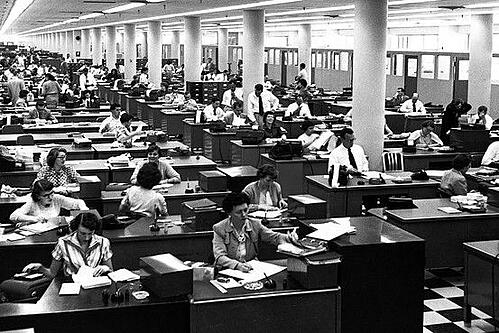 open office 1950's